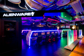 ALIENWARE ARENA in アイ・カフェ AKIBA PLACE イメージ1
