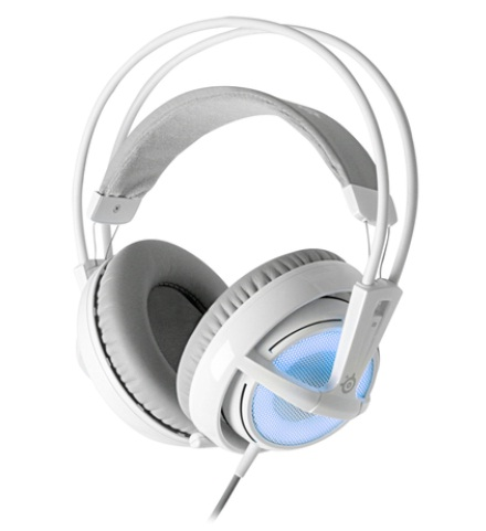 【SteelSeries】 Siberia v2 Frost Blue Edition設置完了!!音に合わせて光る01